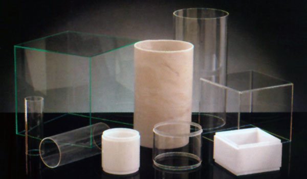 Acrylic Cylinders and Bollards | Crossman Manufacturing